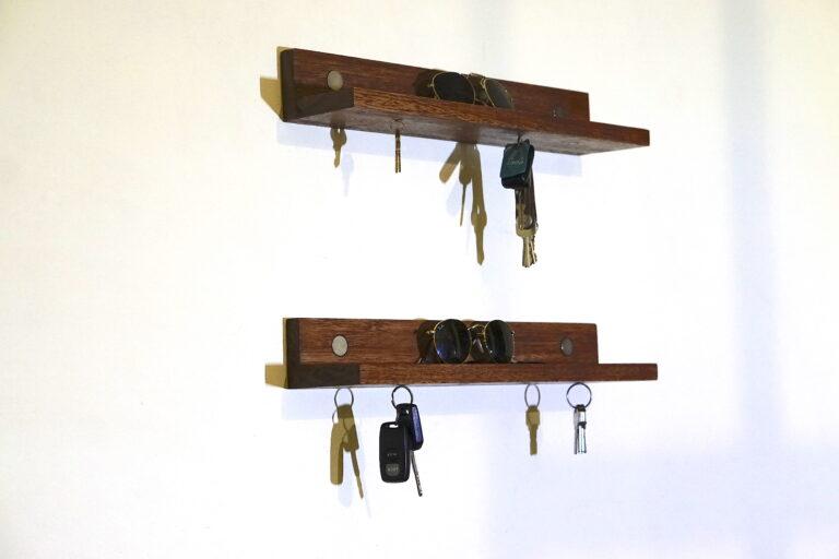 magnetna polica za ključe predsoba