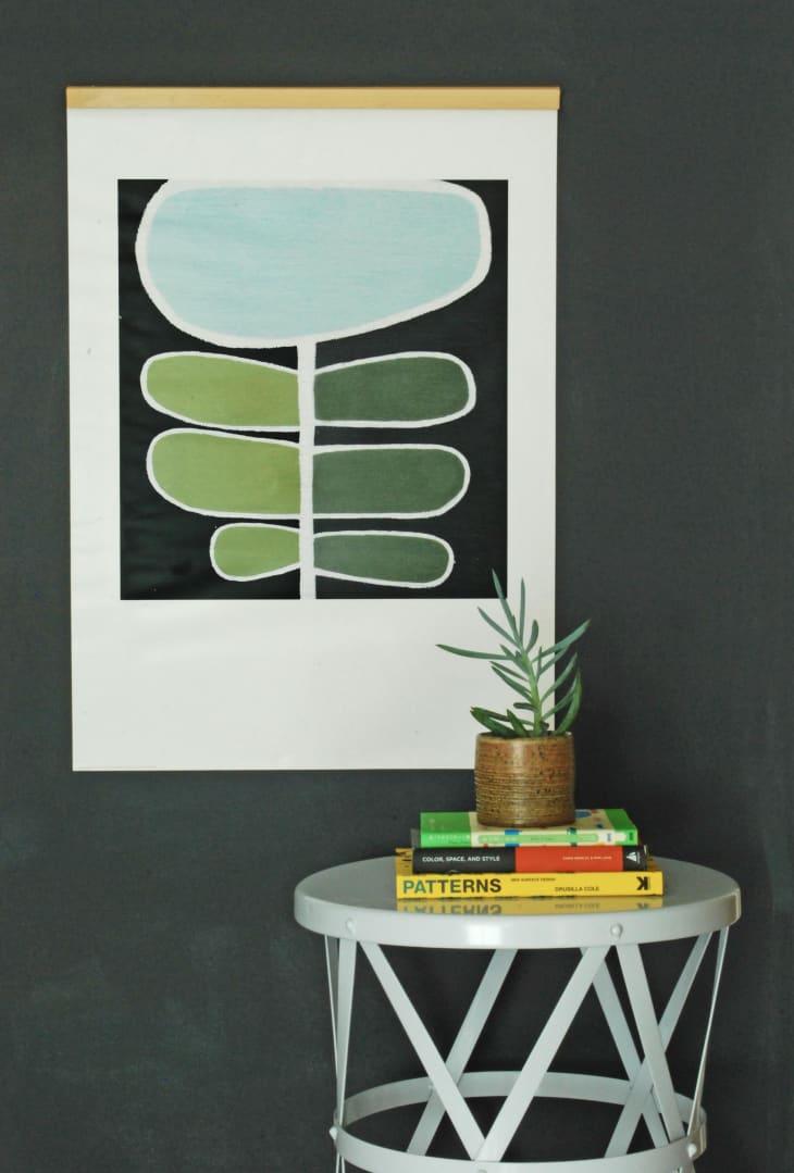 leseni magnetni okvir za sliko